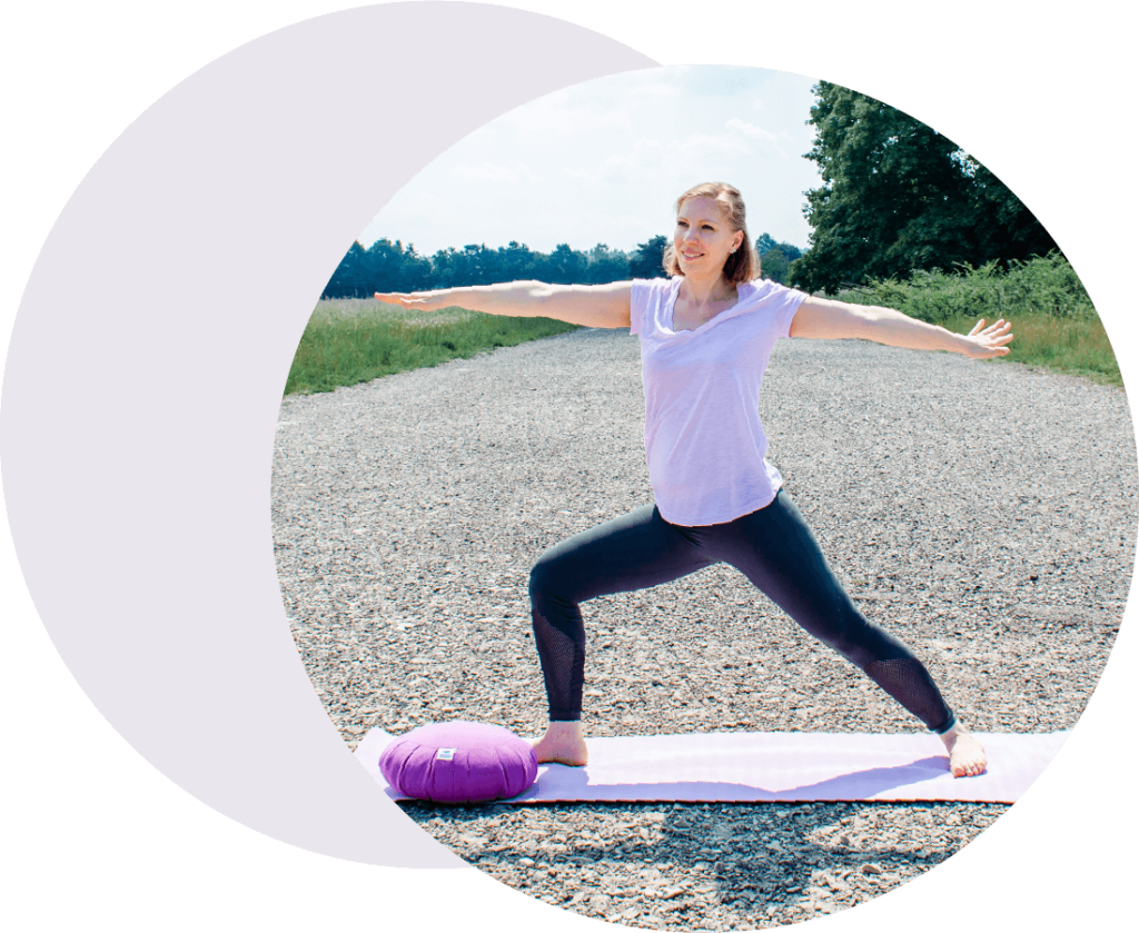 Outdoor Yoga bei Nürnberg